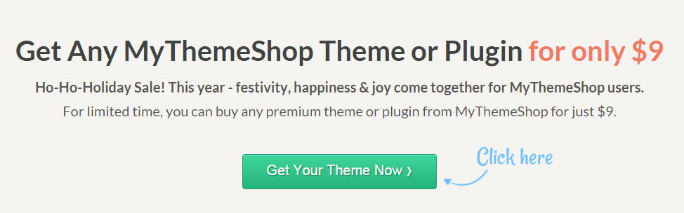 MyThemeShop discount is only $ 9  theme or plugin