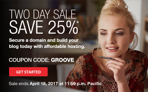 April 2017 Domain.com Coupon Save 25%. Two Days Only!