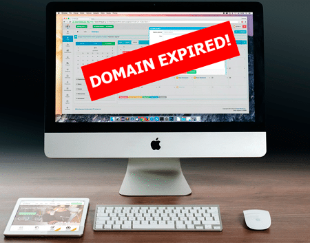 Secure your domain from expiry
