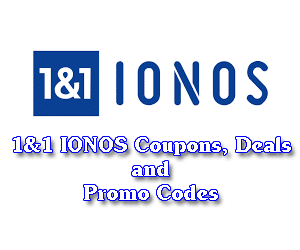 1&1 IONOS Coupons, Deals and Promo Codes