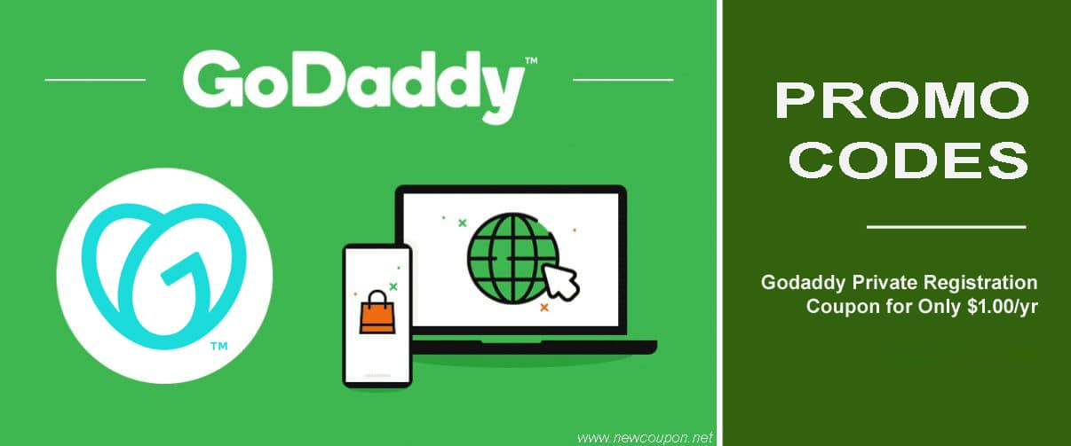 Godaddy Private Registration Coupon for Only $1.00yr