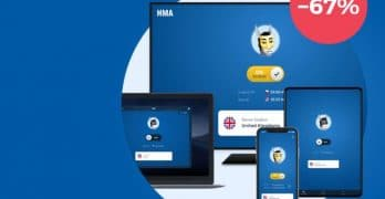 HMA VPN Save 67% Off