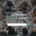 .CO Domains only $1.00 first year at StableHost
